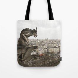 Gargoyle of Notre Dame Tote Bag