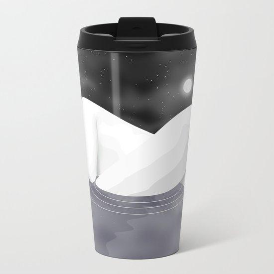 Nudescape 01 Metal Travel Mug