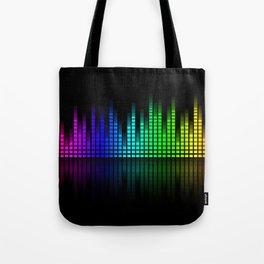sound equalizer Tote Bag