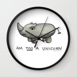 Am TOO a Unicorn Wall Clock
