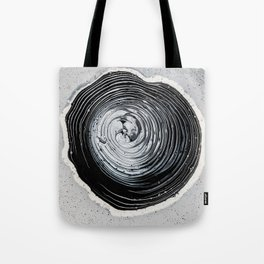 The Hole (Black and White) Tote Bag