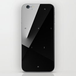 History of Art in Black and White. Minimalism iPhone Skin