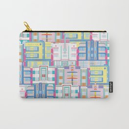 Miami Art Deco Landmarks Carry-All Pouch