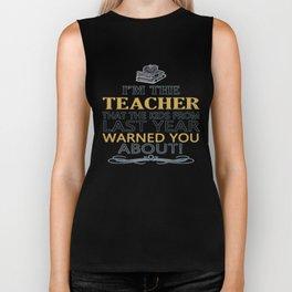 I'm the Teacher Biker Tank