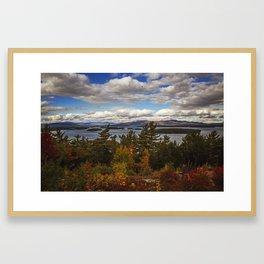 Lake Winnipesaukee Framed Art Print