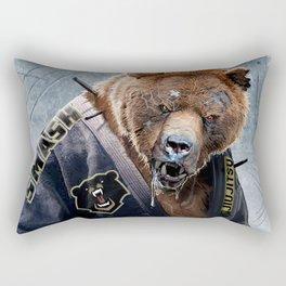 Jiu Jitsu Grizzly Rectangular Pillow