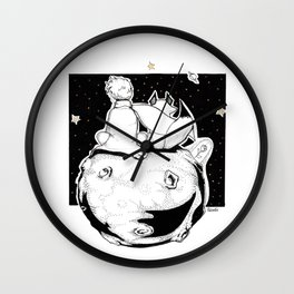 See with your heart Wall Clock