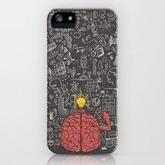 My Brain Won't Stop Slim Case iPhone (5, 5s)