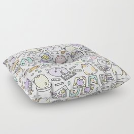 Artsy Cats Floor Pillow