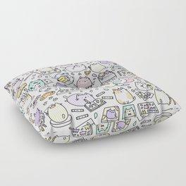 Artsy Cats Floor Pillow