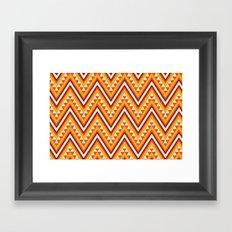 I Heart Patterns #014 Framed Art Print