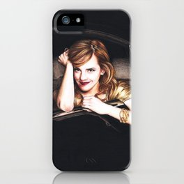Emma iPhone Case