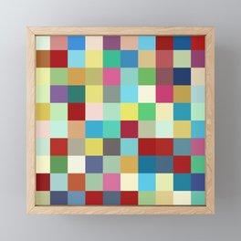 Kanaloa - Colorful Abstract Pixel Pattern Art Framed Mini Art Print