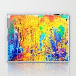 Imaginäre Landschaft - Ölgemälde auf Leinwand Laptop & iPad Skin