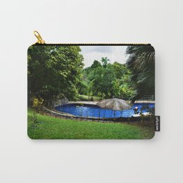 Pool days in the Rain Forest Carry-All Pouch