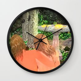 Cult of Youth:When Two Become One Wall Clock