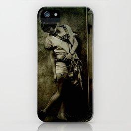 Discretion iPhone Case