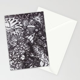 Galactic Conflict Stationery Cards