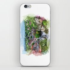 Nottingham city watercolor iPhone & iPod Skin