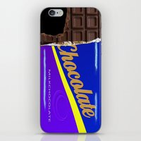 chocolate iPhone & iPod Skins featuring Chocolate by Nicklas Gustafsson