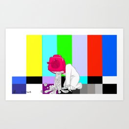 Quality Broadcasting Art Print