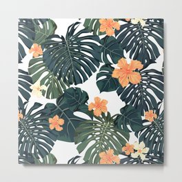 Tropical retro Metal Print