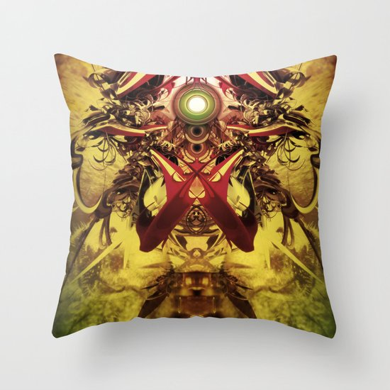 Spinal Tyrant mkii Throw Pillow