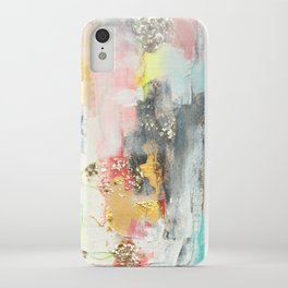 Abstract #3 by Jennifer Lorton iPhone Case