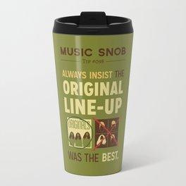 Original Line-up — Music Snob Tip #098 Travel Mug