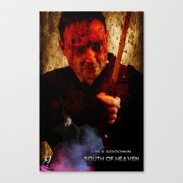 South of Heaven tie in poster Canvas Print
