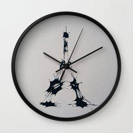 Splaaash Series - Iron Lady Ink Wall Clock