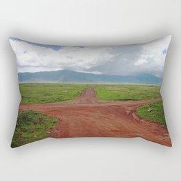 Ngorongoro Crater Rectangular Pillow
