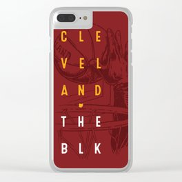 Cleveland - The Block Clear iPhone Case