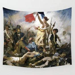 Lady Liberty of the French Revolution Wall Tapestry