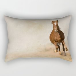 Galloping Horse Rectangular Pillow
