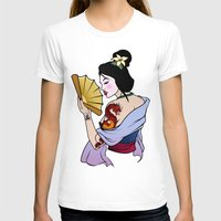 mulan T-shirts featuring Princess Mulan by NOBODY's Art