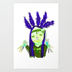 aHHHHHH #1 Art Print