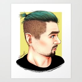 Good Bean Art Print