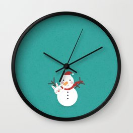Day 21/25 Advent - Nose Installation Wall Clock
