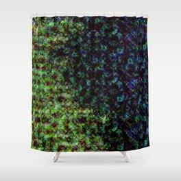 d61: color damage Shower Curtain