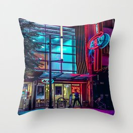 come grab a bite Throw Pillow