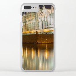 Palma Cathedral - Palma de Mallorca Spain Clear iPhone Case