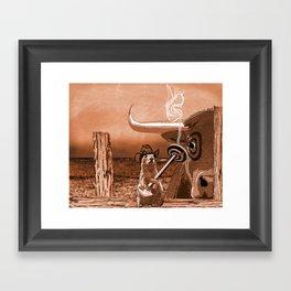 Bulls Eye Framed Art Print