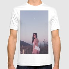 Emily in Colorado MEDIUM White Mens Fitted Tee