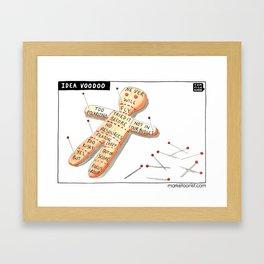 Idea Voodoo Framed Art Print