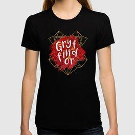 Gryffindor Gold Splatter T-shirt