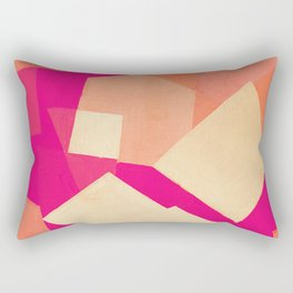 A Crab on the Beach Rectangular Pillow
