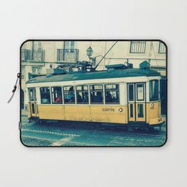 Yellow Tram Laptop Sleeve