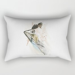 Drift Contemporary Dance Rectangular Pillow