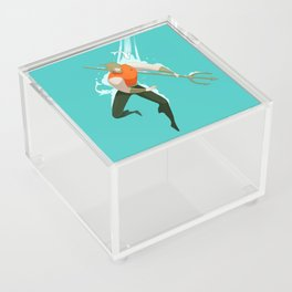 With the fishes Acrylic Box